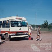 Ansett airport bus, Horn Island, 1976