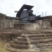Gun, Green Hill Fort, Thursday Island, 2009