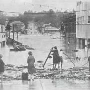 Flooding in Ipswich, 1974