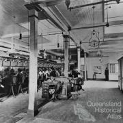 Interior of Brisbane Central Telephone Exchange, Brisbane, 1903
