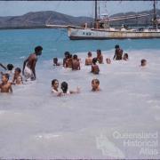 Swimming, Thursday Island, 1958