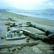 Damage caused by Cyclone Althea, Pallarenda, 1971