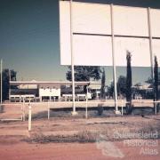 Drive-in cinema, Jericho, c1960