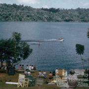 Water skiing on Lake Barrine, 1958
