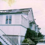 Cyclone Althea damage, Hyde Park, 1971