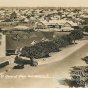 General view, Bundaberg, Wintergarden cinema in foreground, c1930