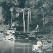 Curtis Falls, Mount Tamborine, c1933