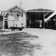 Railway Refreshment Room Cardwell, 1934
