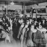 The busy Toowoomba Refreshment Room, c1910
