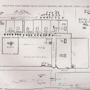 Plan of Palm Island Compound, 1931