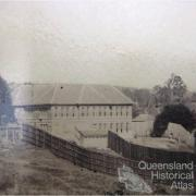 Goodna Asylum on the banks of the Brisbane River