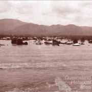 Fitzroy River, Rockhampton in flood 1918