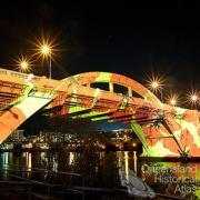 Ian de Gruchy, 'Connecting Brisbane' for the William Jolly Bridge Creative Lighting Project, 2012