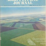 Aerial photograph, Darling Downs, 1969
