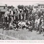 Local farmers at tractor school, Millmerran, 1927