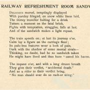 The Railway Refreshment Room Sandwich, 1890