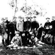 The military arrives at Peak Downs, Clermont, 1891