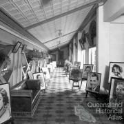 Foyer of Townsville Wintergarden theatre, c1930