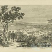 Chinese marching to the Palmer River goldfield, 1877