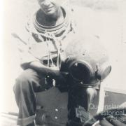 Seaman Dan from Thursday Island, 1956