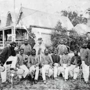 Tommy Wills and the Aboriginal cricket team, 1867
