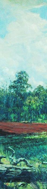 Glasshouse Mountains 1945