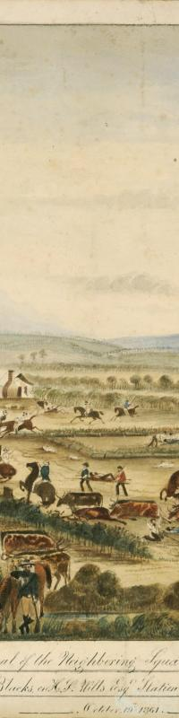 The Wills Tragedy, 1861