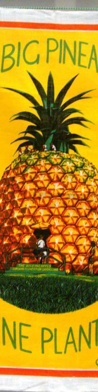 The Big Pineapple Nambour tea-towel