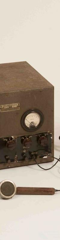 Radio transceiver, Traegar pedal radio
