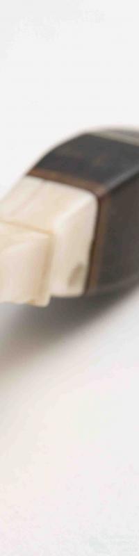 Nineteenth century walrus tusk pastry fork