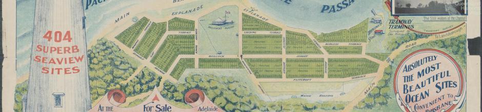 Bulcock estate land sale Caloundra, 1917
