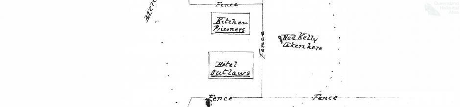 Positioning of Queensland Native Police, Glenrowan, 1880