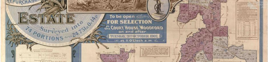 Durundur Estate Map (Durundur and Holmwood), 1902