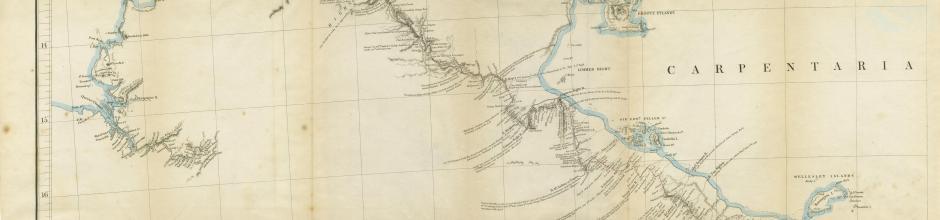 Leichhardt's route from Moreton Bay to Port Essington, 1847