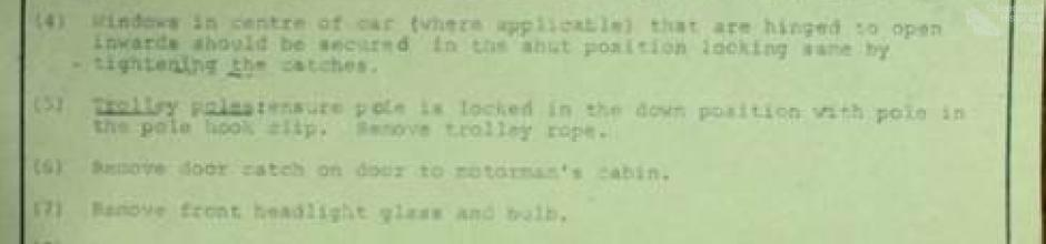 Suggested tramcar safety practices for kindergartens, 1969