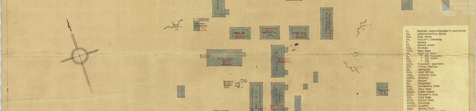 Dunwich Benevolent Asylum male division, 1942