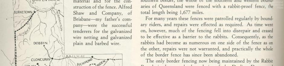 Rabbit proof fences, Walkabout, June 1936