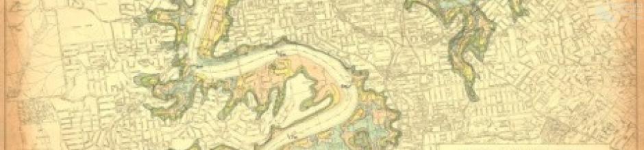 Brisbane flood prediction map, 1933