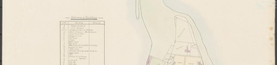 Plan of the island of St Helena, HM Penal Establishment, Queensland, 1887