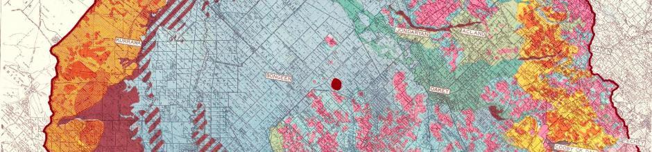 Darling Downs soil map, 1952