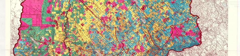 Darling Downs land use map, 1952
