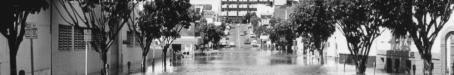 Flooding in Mary Street, Brisbane, 1974
