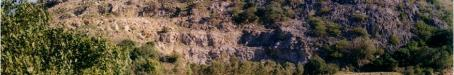Quarry face, Mount Etna