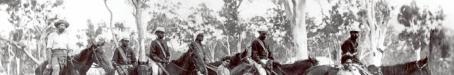 Cape York Peninsula Native Police patrol, c1900
