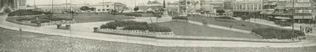 Centenary Park from Holy Name Cathedral site, 1926